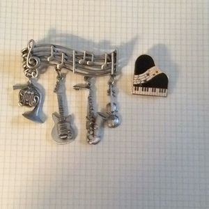 Jewelry - *FIRM* Music themed pins